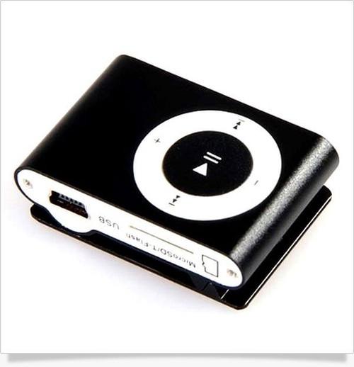 Odtwarzacz mini MP3 czarny