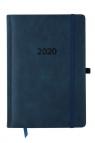 Kalendarz 2020 KK-A5DLR Dzienny A5 Lux Registry granatowy