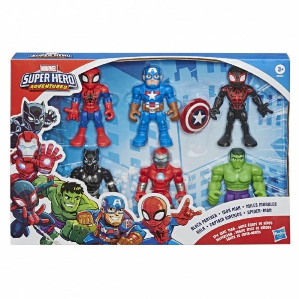 Super Hero Universe Zestaw Superbohaterów Mega Mighties (E9861)