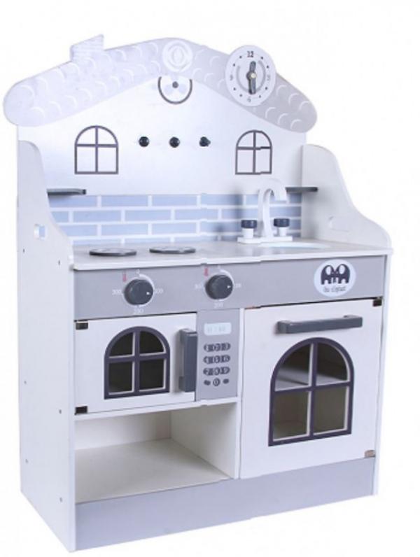 Nowoczesna kuchnia domek. Szara (MSN19030)