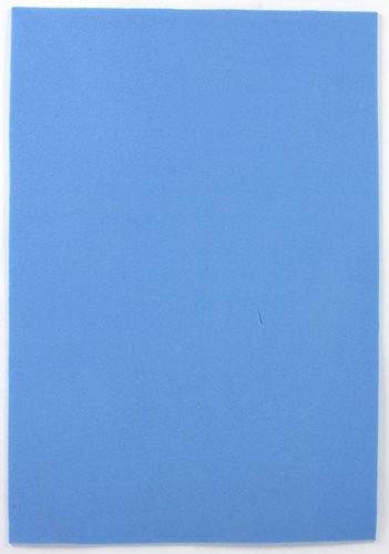Arkusze piankowe 20x29cm 10 arkuszy kolor błękitny