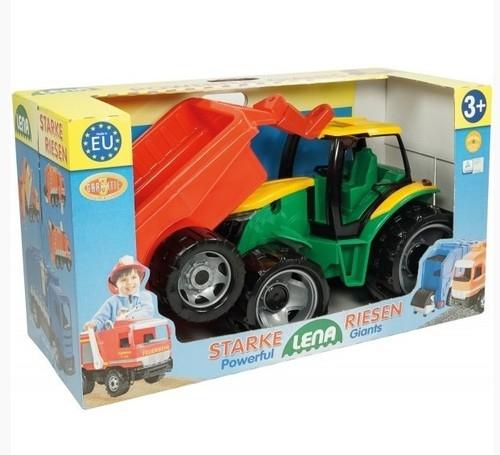Traktor Lena z przyczepą Mix (02122)