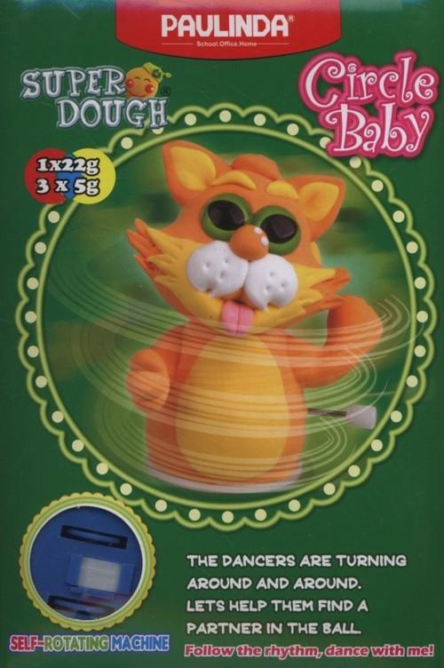 Pianko-masa Super Dough kot pomarańczowy