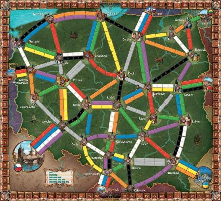 Wsiąść do Pociągu Kolekcja Map 6.5 - Polska Alan R. Moon