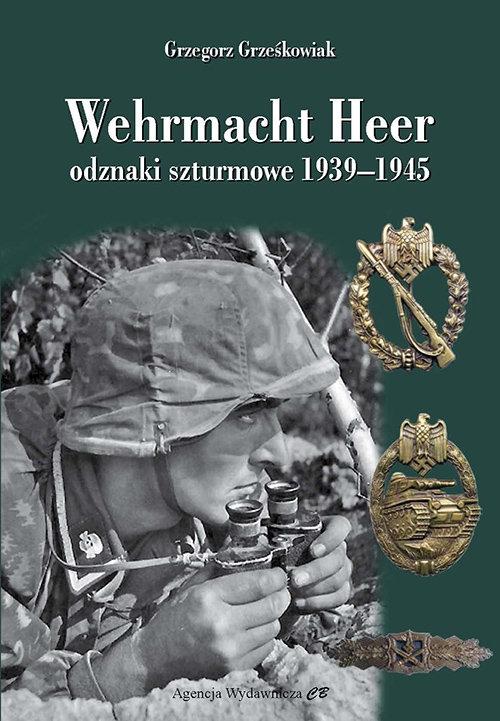 Wehrmacht Heer odznaki szturmowe 1939-1945 Grześkowiak Grzegorz