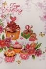 Karnet Urodziny n naklejanymi cyframi HM-200-1229