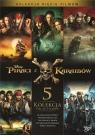 Pakiet - Piraci z Karaibów 1-5 DVD