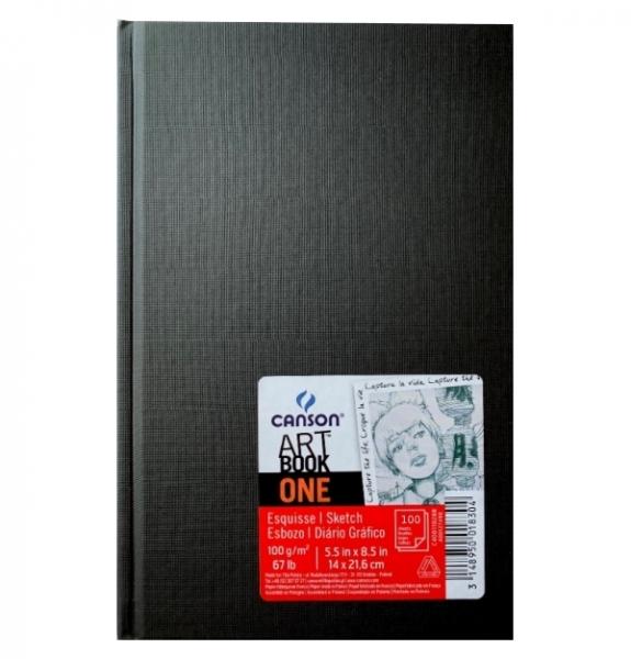 Canson, szkicownik A5, 100k., Artbook One gładki