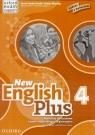 English Plus New 4 materiały ćwicz. w.pełna OXFORD Ben Wetz, James Styring, Nicholas Tims, Jenny Qui