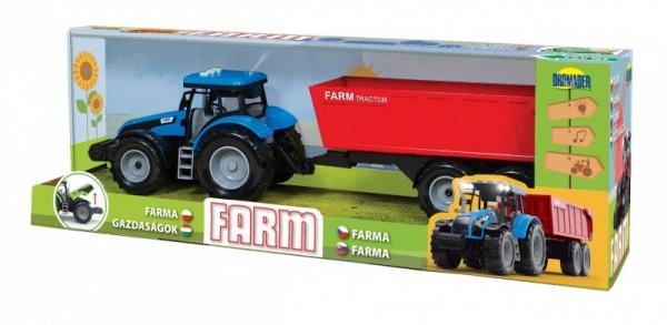 Pojazd Traktor z dźwiękami w pudełku (02704)