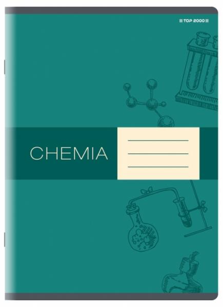 Zeszyt Top 2000 A5/60k, kratka z marginesem - Chemia (400152060)