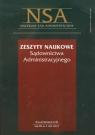 Zeszyty Naukowe Sądownictwa Administracyjnego 5/2011