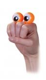 Oczy na palce pacynka pomarańczowa