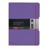 Notatnik my.book Flex A4/2x40k linia, kratka - fioletowy (11361466)