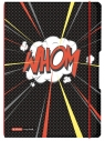 Notatnik PP my.book Flex A4/2x40 kartek linia i kratka Comic (50016327)