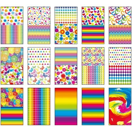 Blok z motywami A4/15 arkuszy - Colors (396848)