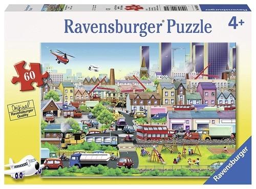 Puzzle Zapracowana okolica 60