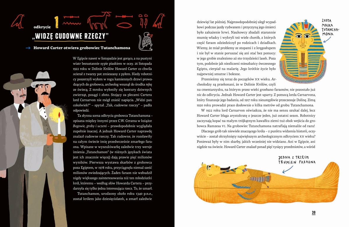 Archeologia. Mumie, złoto i stare skorupy Guzowska Marta