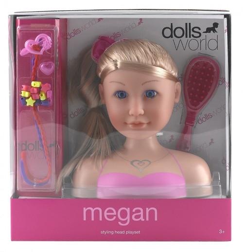 Głowa lalki do stylizacji Megan (016-08730)