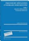 Procedury oświatowe z wzorami dokumentów. Tom 1. Prawo oświatowe i system oświaty - z serii MERITUM