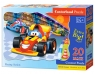 Puzzle maxi konturowe: Racing Action 20 elementów (02306)