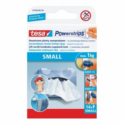 Plastry Tesa.powerstrips 14szt.białe 57550-00130-01TS