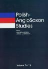 Polish-AngloSaxon Studies volume 14-15