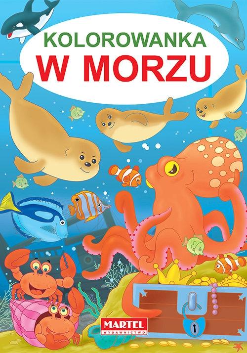 Kolorowanka w morzu Jarosław Żukowski