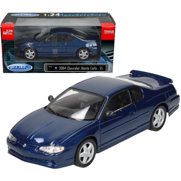 WELLY Chevrolet Monte Carlo SS, granato. (WE22456)