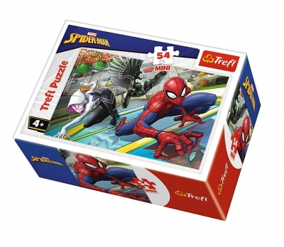 Puzzle mini 54: Czas na Spider-Mana 1 TREFL