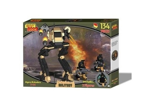 Klocki Best Lock Military Robot 134 elementy