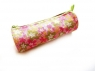 Piórnik tuba Złote kwiatki 023