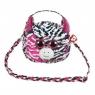TY Fashion Zoey - Cekinowa torba na ramię Zebra (95130)