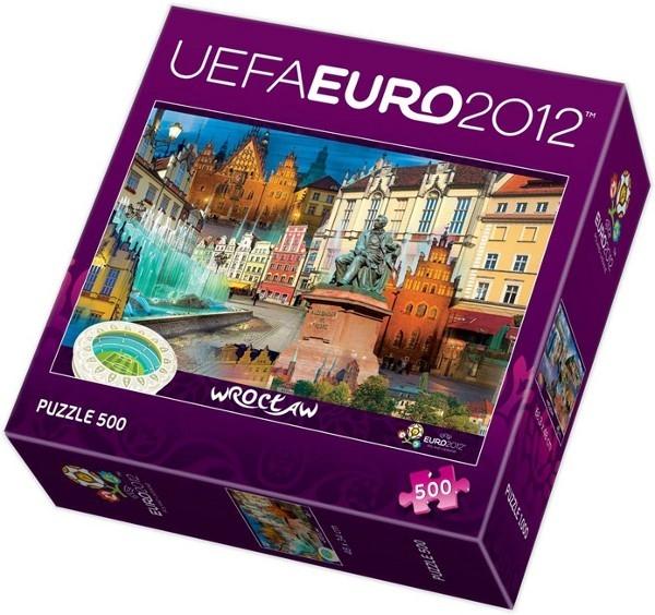 Euro 2012 Wrocław - 500 elementów (37130)