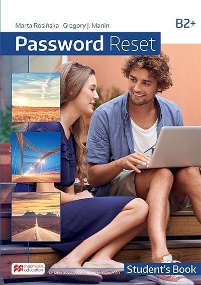 Password Reset B2+ SB MACMILLAN Marta Rosińska, Gregory J. Manin