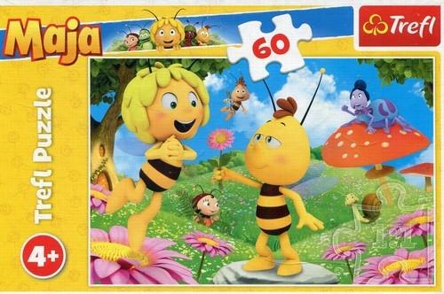 Puzzle 60 Kwiatek dla Mai