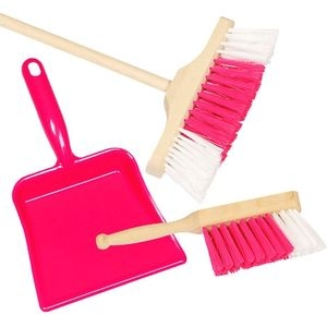Różowy zestaw do sprzątania (15430)
