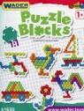 Klocki Puzzle 40 elementów w kartonie