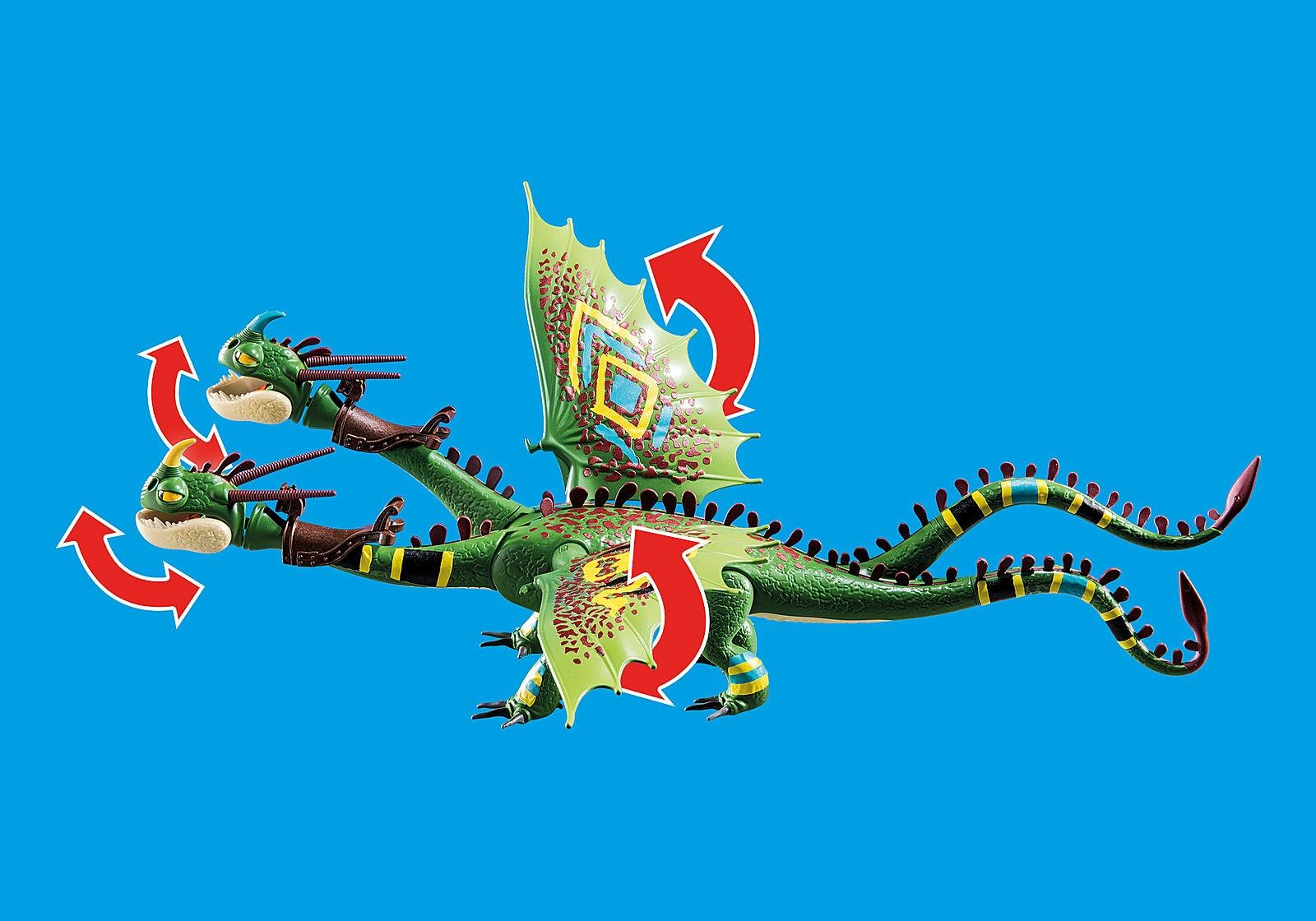 Playmobil Dragon Racing: Szpadka i Mieczyk z Jot + Wym (70730)