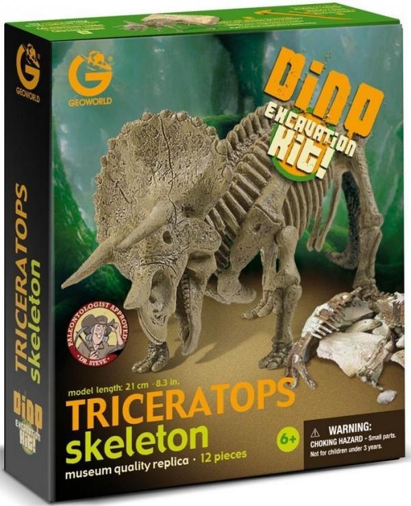 Wyprawa Paleontologiczna - Triceratops