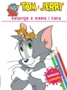 Tom i Jerry Koloruję z mamą i tatą