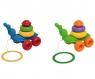 Ślimak zabawka edukacyjna - 8 elementów MIX (42230) Wiek: 1+