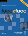 face2face Pre-intermediate Teacher's Book with DVD (Uszkodzona okładka) Redston Chris, Day Jeremy