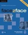 face2face Pre-intermediate Teacher's Book with DVD (Uszkodzona okładka)