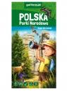 Polska Parki Narodowe - mapa dla dzieci