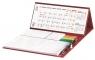 Kalendarz 2022 biurkowy z długopisem