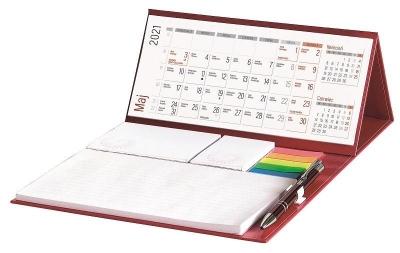 Kalendarz 2022 biurkowy z długopisem praca zbiorowa
