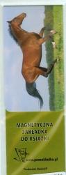Magnetyczna zakładka do książki Koń