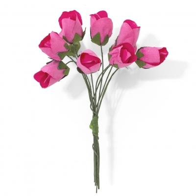Ozdoba papierowa Galeria Papieru kwiaty tulipany różowe (252001)