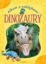 Album z naklejkami. Dinozaury